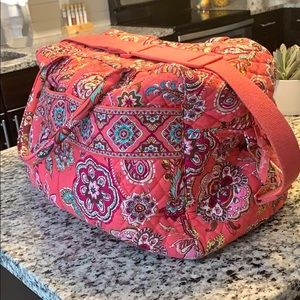 Vera Bradley Iconic Weekender Overnight Bag